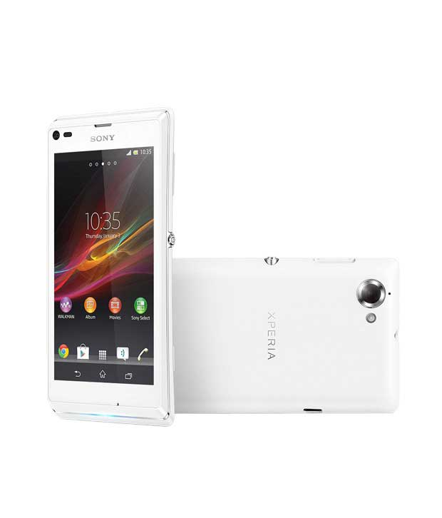 Sony Xperia L 8GB Black Mobile