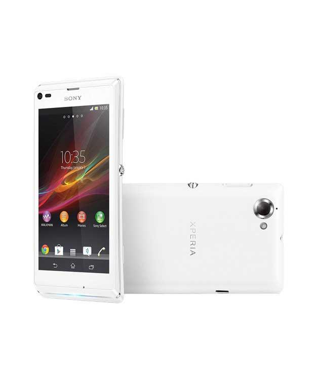Sony Xperia L 8GB White Mobile