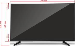 Wybor W324EW3 LED TV - 32 Inch, HD Ready (Wybor W324EW3)