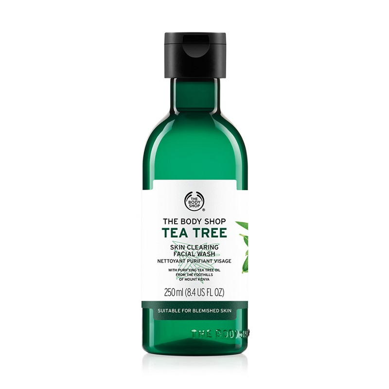 The Body Shop Tea Tree Skin Clearing Face Wash 250 ML