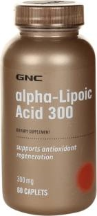 Gnc Alpha Lipoic Acid 300 mg Supplements (60 Capsules)