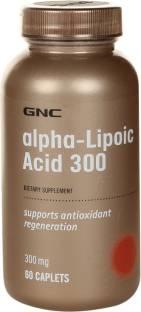 GNC Alpha Lipoic Acid 300 mg Supplements (60 Capsules)