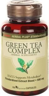 GNC Green Tea Complex Supplements (100 Capsules)