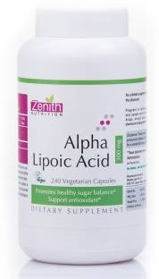 Zenith Nutrition Alpha Lipoic Acid 300mg (240 Capsules)