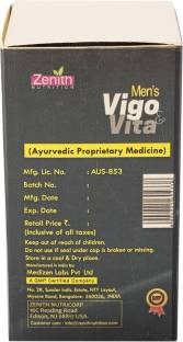 Zenith Nutrition Vigo And Vita Mens Vitamins (30 Capsules)
