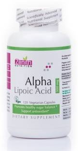 Zenith Nutrition Alpha Lipoic Acid 300mg (120 Capsules)