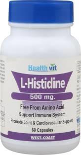 Healthvit L-Histidine- Support Immune System (60 Capsules)