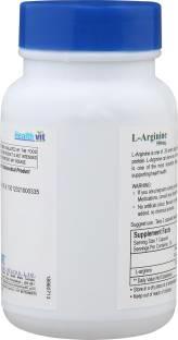 Healthvit L-Arginine 500mg (60 Capsules)