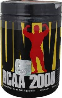Universal Nutrition Bcaa 2000 Muscle Gainers (120 Capsules)