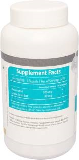 Vista Nutrition Resveratrol 500 mg Supplements (120 Capsules)
