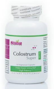 Zenith Nutrition Colostrum Super 300 mg Supplements (60 Capsules)