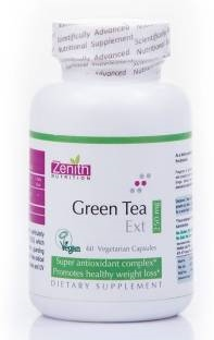 Zenith Nutrition Green Tea Extract 250mg Supplement (60 Capsules)