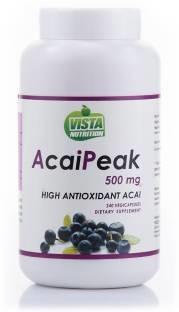 Vista Nutrition Acai Peak 500 mg Vitamins (240 Capsules)