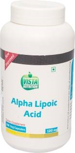 Vista Nutrition Alpha Lipoic Acid 100 mg Vitamins (240 Capsules)