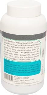 Vista Nutrition Grape Seed Extract With Vitamin C (240 Capsules)