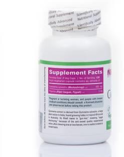 Zenith Nutrition Gymnema Plus 450mg (60 Capsules)