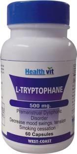 Healthvit L Tryptophane 500mg (60 Capsules)