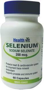 Healthvit Selenium 200mg (60 Capsules)