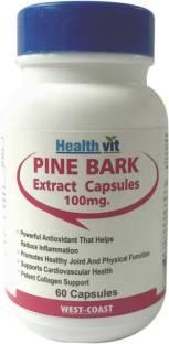 Healthvit Pine Bark Extract 100mg (60 Capsules)