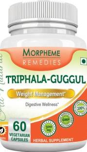 Morpheme Remedies Triphala Guggul 500 mg Supplement (60 Capsules)