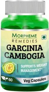 Morpheme Remedies Garcinia Cambogia 500mg Extract (60 Capsules) - Pack of 3