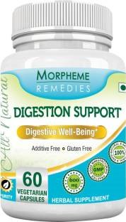 Morpheme Remedies Digestion Support 600mg Extract Supplements (60 Capsules)