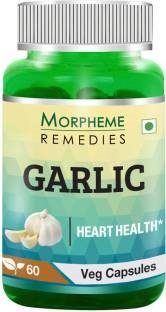 Morpheme Remedies Garlic Extract 500mg (60 Capsules)