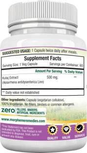 Morpheme Remedies Haridra Turmeric Curcumin 500mg Extract (60 Capsules) - Pack of 3