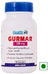 Healthvit Gurmar 250mg Supplements (60 Capsules)