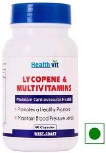 Healthvit Lycopene And Multivitamins Supplements (60 Capsules)