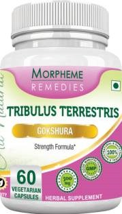 Morpheme Remedies Tribulus Terrestris 500 mg Extract Supplements (60 Capsules)