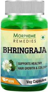 Morpheme Remedies Bhringraja 500 mg Extract Supplements (60 Capsules)