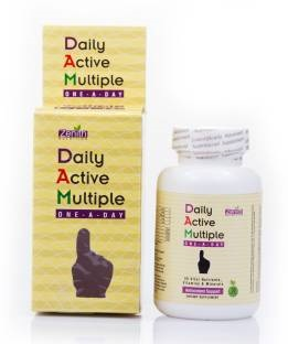 Zenith Nutrition Daily Active Multiple One A Day Supplements (60 Capsules)