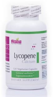 Zenith Nutrition Lycopene with Calcium Supplements (120 Capsules)