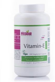 Zenith Nutrition Vitamin E 200 mg Supplements (300 Capsules)