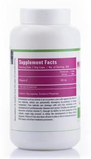 Zenith Nutrition Vitamin E 200 mg Supplements (300 Capsules)