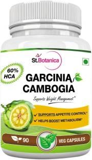 StBotanica Garcinia Cambogia Slim 60% HCA 800 mg Extract Supplements (90 Capsules) - Pack of 3