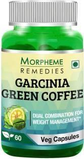 Morpheme Remedies Garcinia Green Coffee 500mg (60 Capsules) - Pack of 6