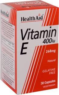 Health Aid Vitamin E 400Iu 268mg Supplements (30 Capsules)
