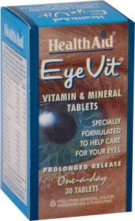 Health Aid Eye-Vit Vitamin And Mineral Supplements (30 Capsules)