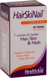 Health Aid Hairskinail Supplements Veg (30 Capsules)