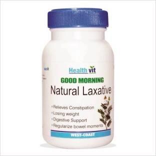 Healthvit Good Morning Natural Laxative Supplements (60 Capsules)