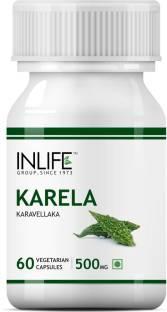 Inlife Karela Karavellaka 500 mg Supplements (60 Capsules)
