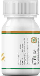 Inlife Wheat Germ Oil 500 mg Supplements (60 Capsules)