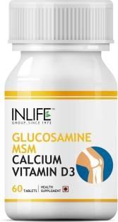 Inlife Glucosamine Sulphate Msm Calcium Vitamin D3 (60 Capsules)