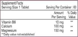 Healthvit Magnesium & Vitamin B6 Supplements (60 Capsules)