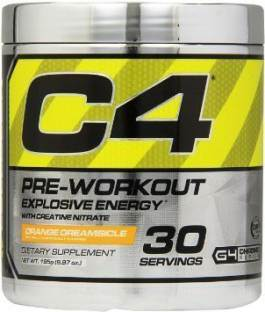 Cellucor C4 Explosive Pre Workout Orange Dreamsicle Supplement (30 Servings)
