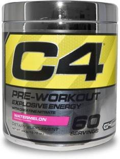 Cellucor C4 Explosive Preworkout Watemelon Supplement (60 Servings)