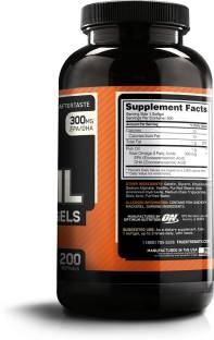 Optimum Nutrition Fish Oil 300g (100 Capsules)