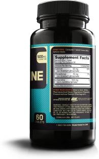 Optimum Nutrition L-Carnitine 500mg Supplement (60 Capsules)